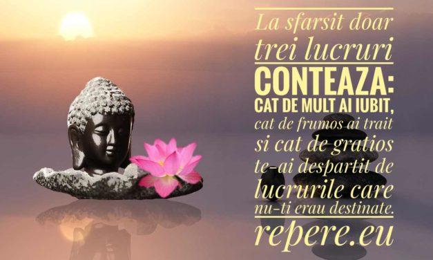 10 Lectii esentiale de viata oferite de Buddha