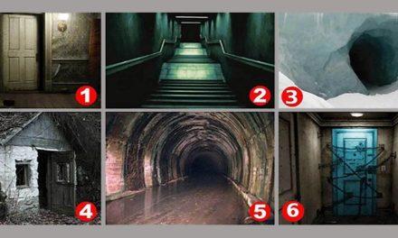 Alege intrarea care te sperie cel mai mult si afla care este cea mai mare frica a ta